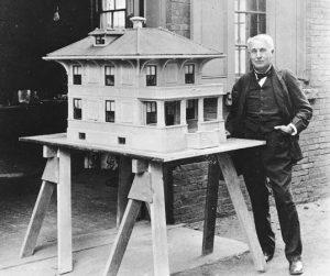 Thomas Edison foursquare house