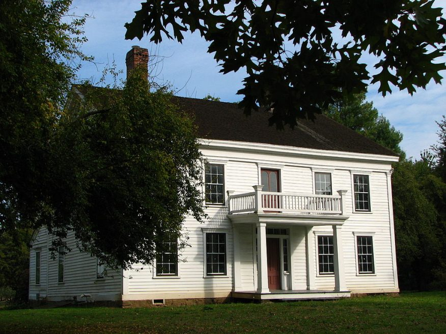 James (cousin of William) Bybee House (aka Bybee-Howell House), Sauvie Island, built in 1856.