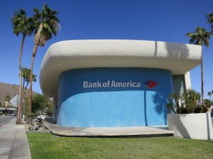 bank of america Palm Springs Mid-Century Modern architecture