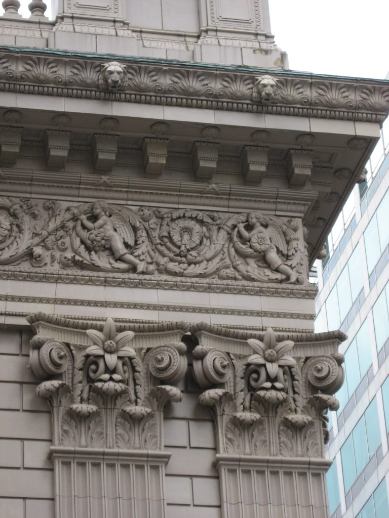 The terra cotta builidngs in downtown Portland are truly a treasure. We have perhaps the largest concentration of these endearing (and enduring) architectural artifacts of any city in the country (largely thanks to prominent 1920s architect A.E. Doyle).