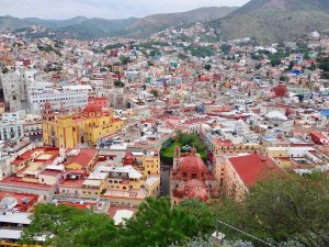 Jardin city center park presa Historic Town of Guanajuato