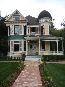 Victorian Homes in Pasadena Orange Grove