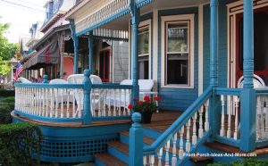 Victorian porch style