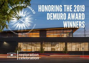The DeMuro Awards for Historic Preservation 2019