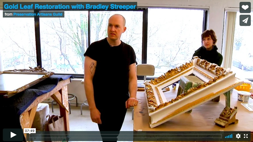 Gold Leaf Restoration with Bradley Streeper